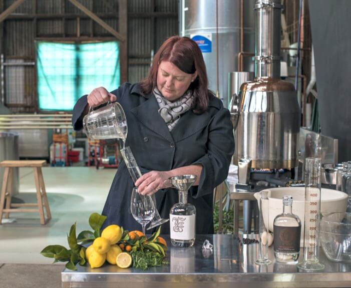 gin distillery industry